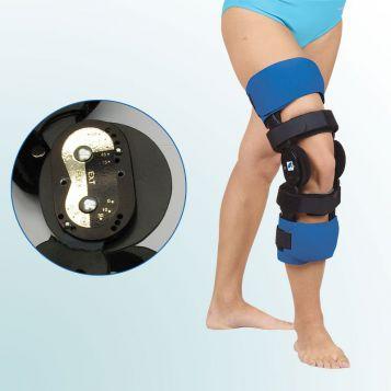 OR 30 - Ortéza kolenního kloubu s limitovaným rozsahem pohybu – pevný rám