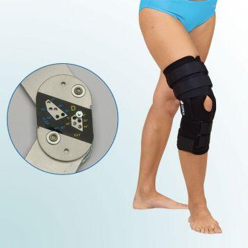 OR 31 - Ortéza kolenního kloubu s limitovaným rozsahem pohybu – elastická
