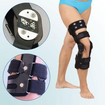 OR 32/I - Ortéza kolenního kloubu s limitovaným rozsahem pohybu – pevný rám – předozadní
