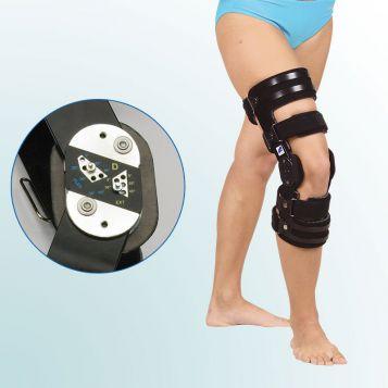 OR 32 - Ortéza kolenního kloubu s limitovaným rozsahem pohybu – pevný rám