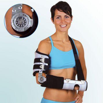OR 4F - Ortéza loketní, rigidní s fixací zápěstí
