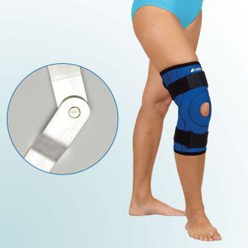 OR 7B - Ortéza kolenního kloubu – krátká léčebná s kloubem návleková