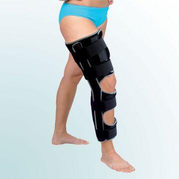 OR 3B/II - Ortéza kolenního kloubu pevná s flexí 20 stupňů – JEDNODÍLNÁ