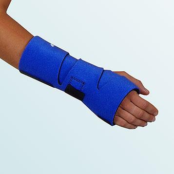 OR 10E - Ortéza zápěstí oboustranná