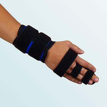 OR 10B - Ortéza prstová s dlahou univerzální