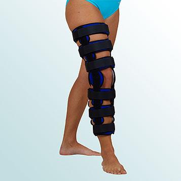 OR 3B/I - Ortéza kolenního kloubu pevná s flexí 20 stupňů – odlehčená