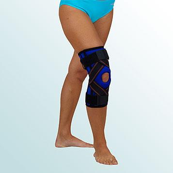 OR 33/I - Ortéza kolenního kloubu návleková s výztuhou a zkříženým tahem