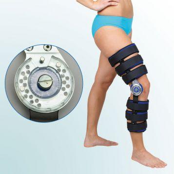 OR 1/I - Ortéza kolenního kloubu s limitovaným rozsahem pohybu – odlehčená