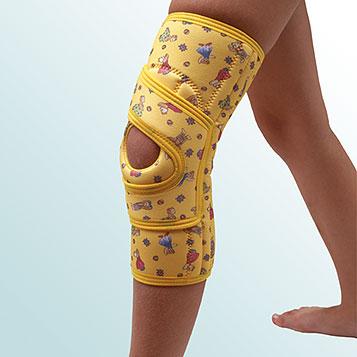OR 36 - Ortéza kolenního kloubu návleková se stabilizací pately