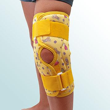 OR 7C/r - Ortéza kolenního kloubu, krátká léčebná s kloubem – rozepínací