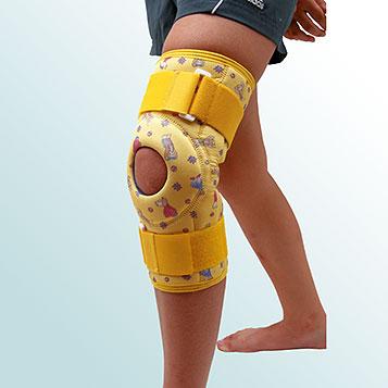 OR 7B - Ortéza kolenního kloubu - krátká léčebná s kloubem – návleková