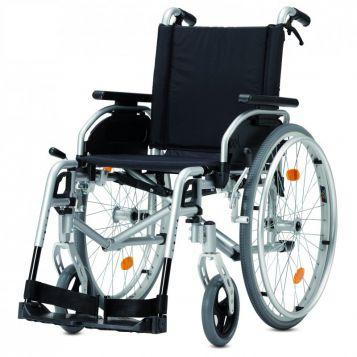 Pyro Star DB Plus - Mechanický invalidní vozík odlehčený s brzdami pro doprovod. Cena 11 820 Kč.