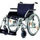 S-ECO 300 XL Plus - Cena: 15 960 Kč, mechanický invalidní vozík zesílený s brzdami pro doprovod.