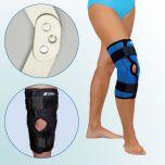 OR 7C/r - Ortéza kolenního kloubu – krátká léčebná s dvouosým kloubem, rozepínací