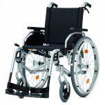 Pyro Star DB Plus - Cena: 11 820 Kč, mechanický invalidní vozík odlehčený s brzdami pro doprovod.